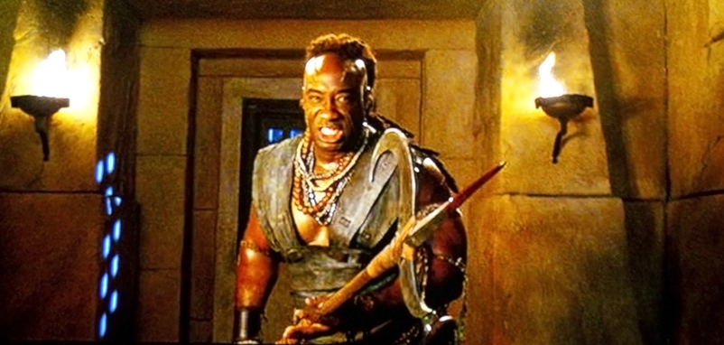 The Scoprion King - Michael Clark Duncan's pike